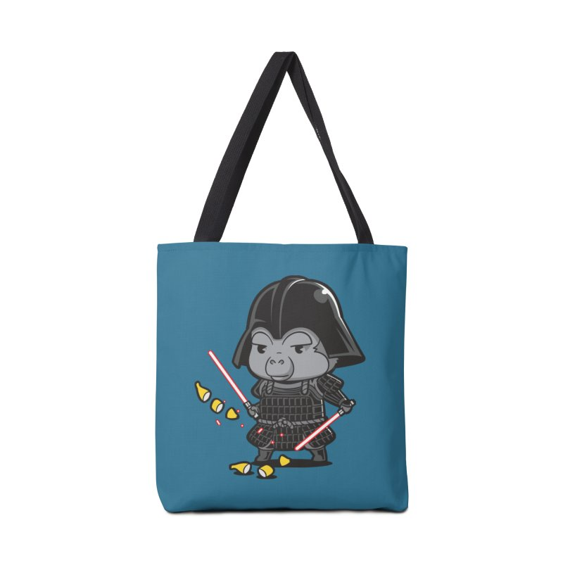 Samurai Dark Accessories Bag by Flying Mouse365