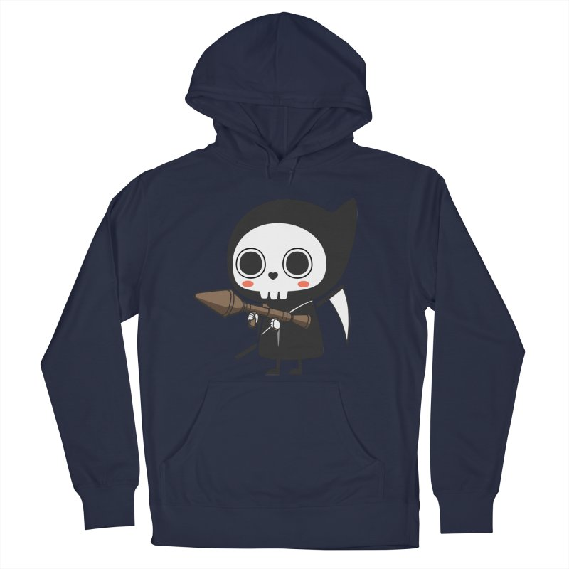 New Weapon Women's French Terry Pullover Hoody by Flying Mouse365