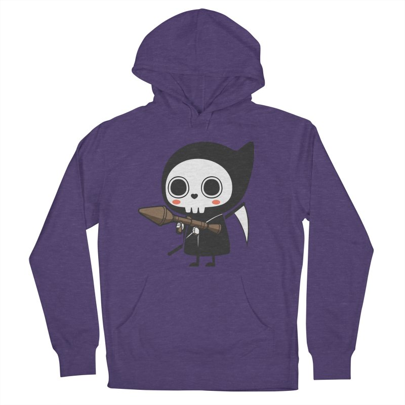 New Weapon Men's French Terry Pullover Hoody by Flying Mouse365