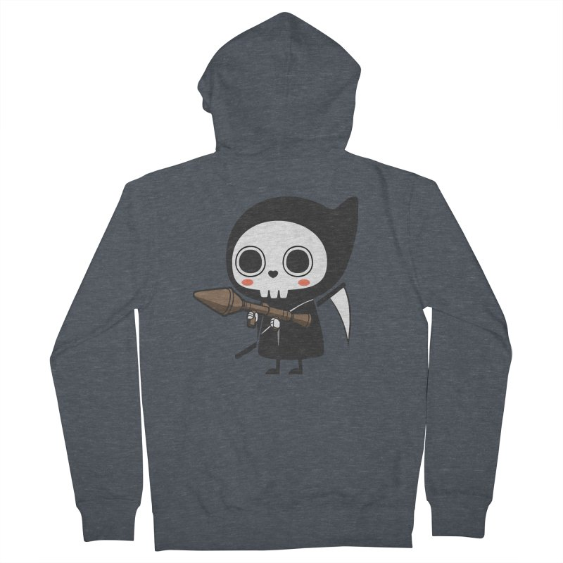New Weapon Women's French Terry Zip-Up Hoody by Flying Mouse365