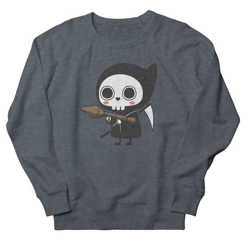 New Weapon Women's French Terry Sweatshirt by Flying Mouse365