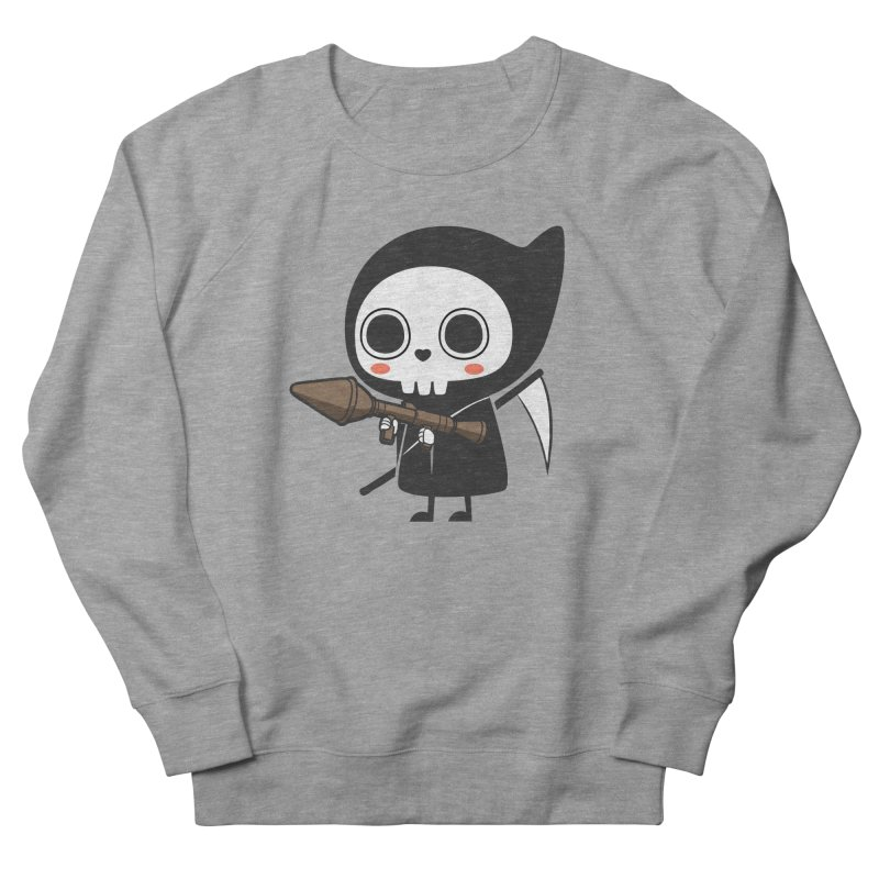 New Weapon Men's French Terry Sweatshirt by Flying Mouse365
