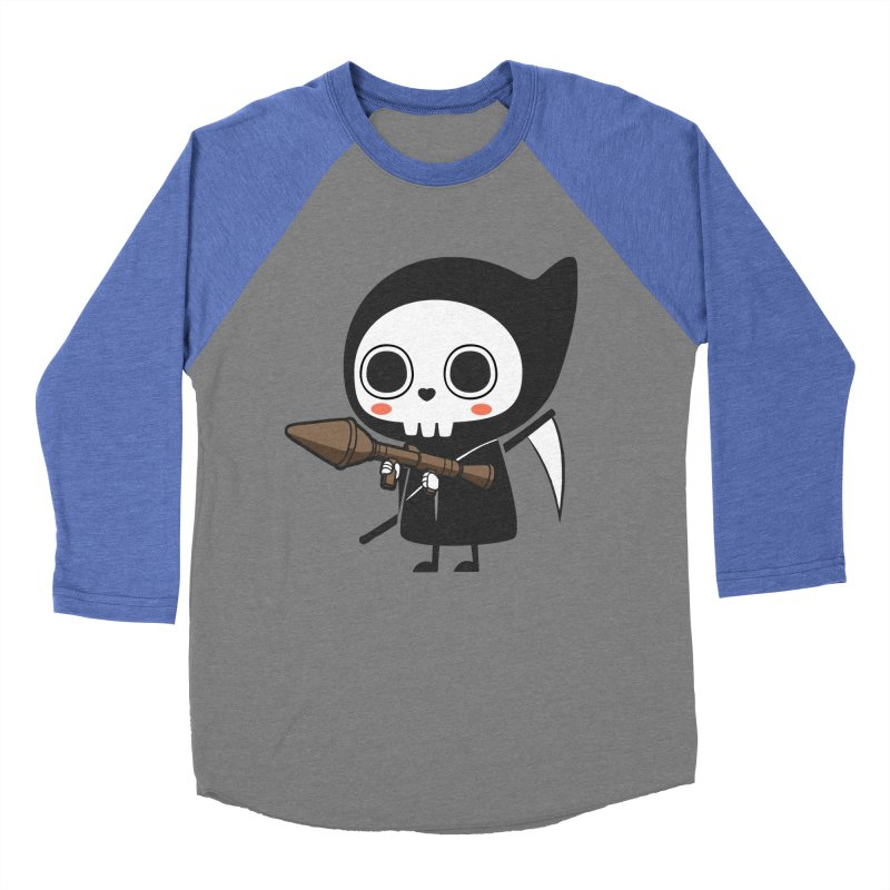 New Weapon Women's Baseball Triblend Longsleeve T-Shirt by Flying Mouse365