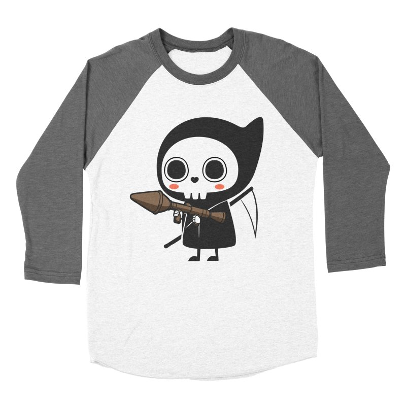 New Weapon Men's Baseball Triblend Longsleeve T-Shirt by Flying Mouse365