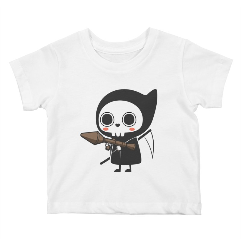 New Weapon Kids Baby T-Shirt by Flying Mouse365
