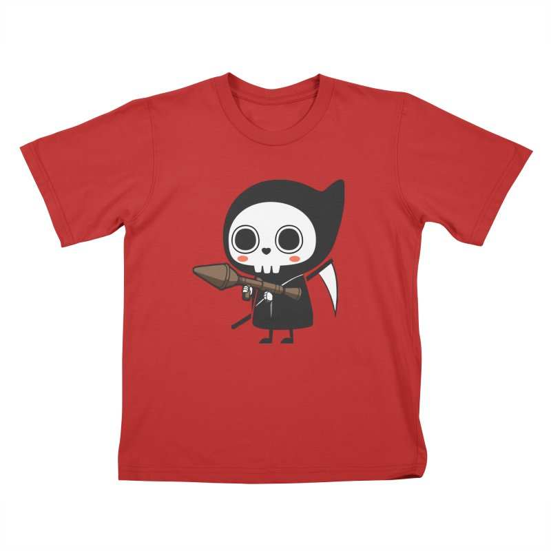 New Weapon Kids T-Shirt by Flying Mouse365