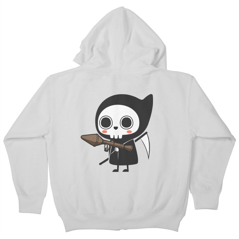 New Weapon Kids Zip-Up Hoody by Flying Mouse365