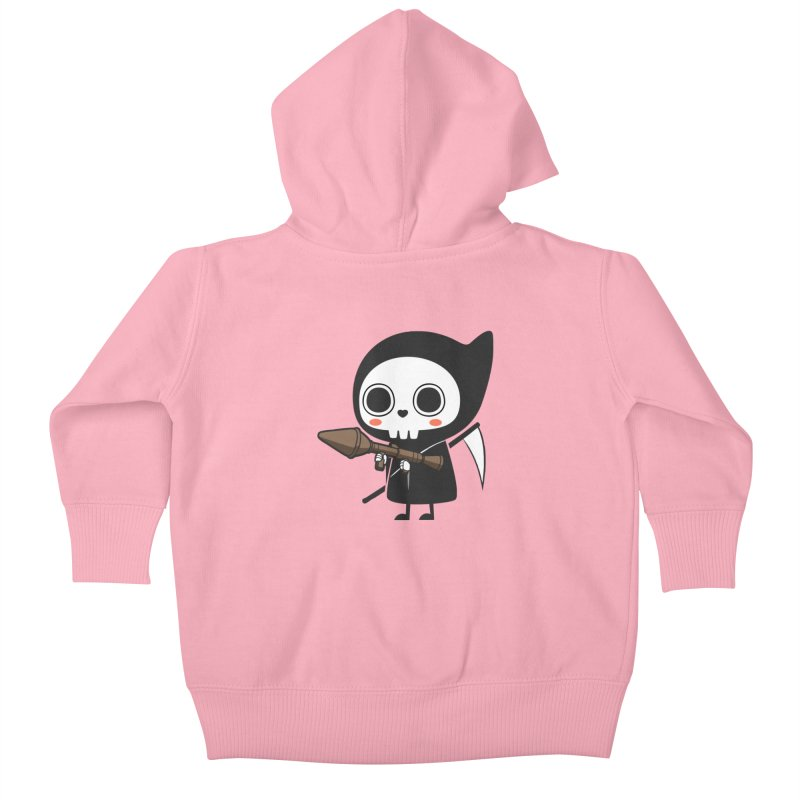 New Weapon Kids Baby Zip-Up Hoody by Flying Mouse365