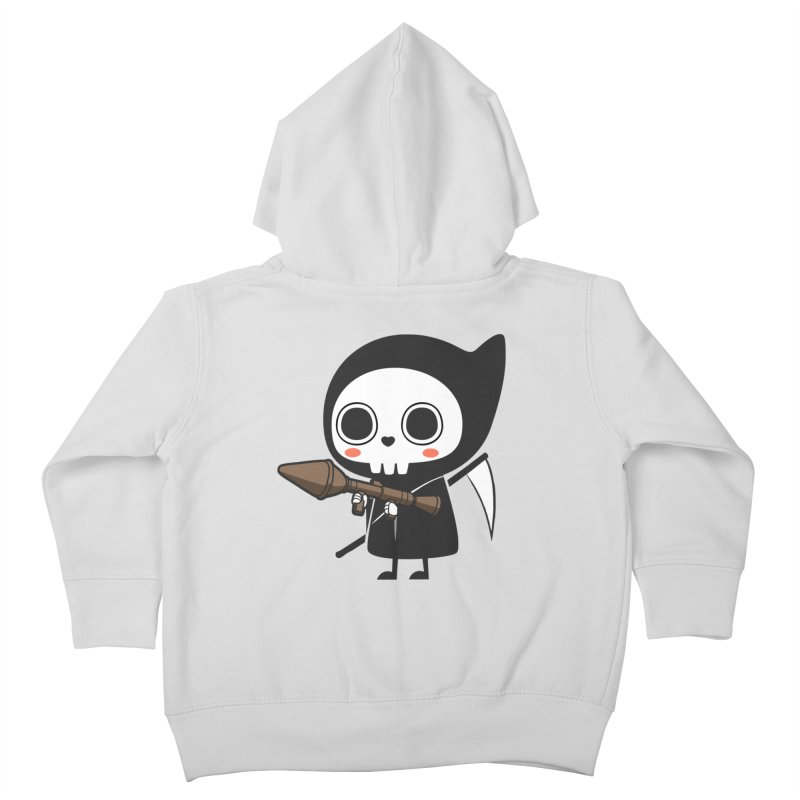 New Weapon Kids Toddler Zip-Up Hoody by Flying Mouse365