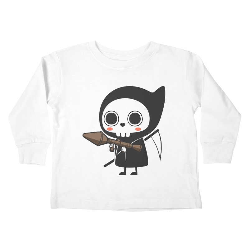 New Weapon Kids Toddler Longsleeve T-Shirt by Flying Mouse365