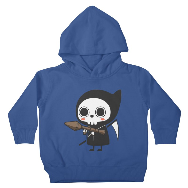 New Weapon Kids Toddler Pullover Hoody by Flying Mouse365