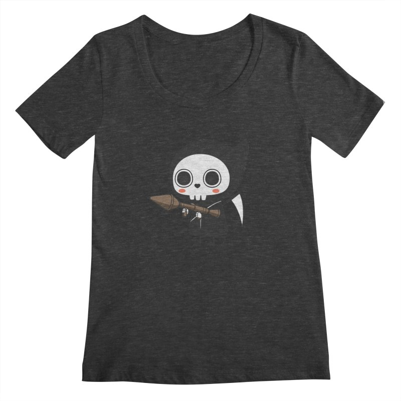 New Weapon Women's Scoopneck by Flying Mouse365