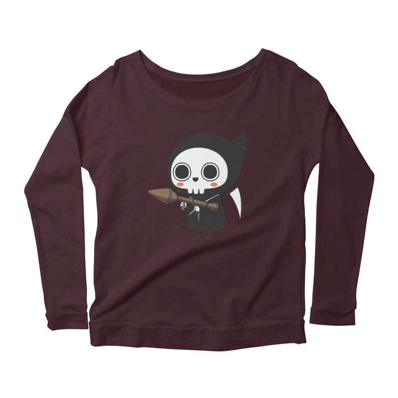New Weapon Women's Scoop Neck Longsleeve T-Shirt by Flying Mouse365