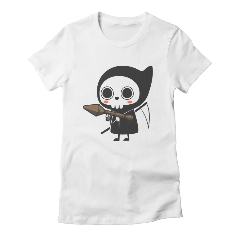 New Weapon Women's Fitted T-Shirt by Flying Mouse365