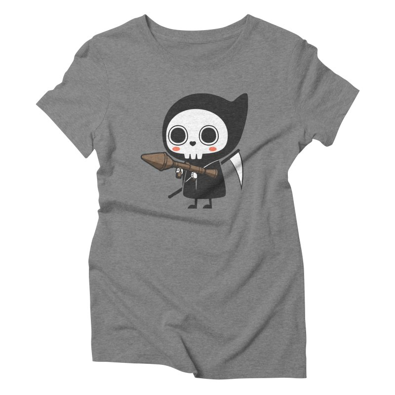 New Weapon Women's Triblend T-shirt by Flying Mouse365