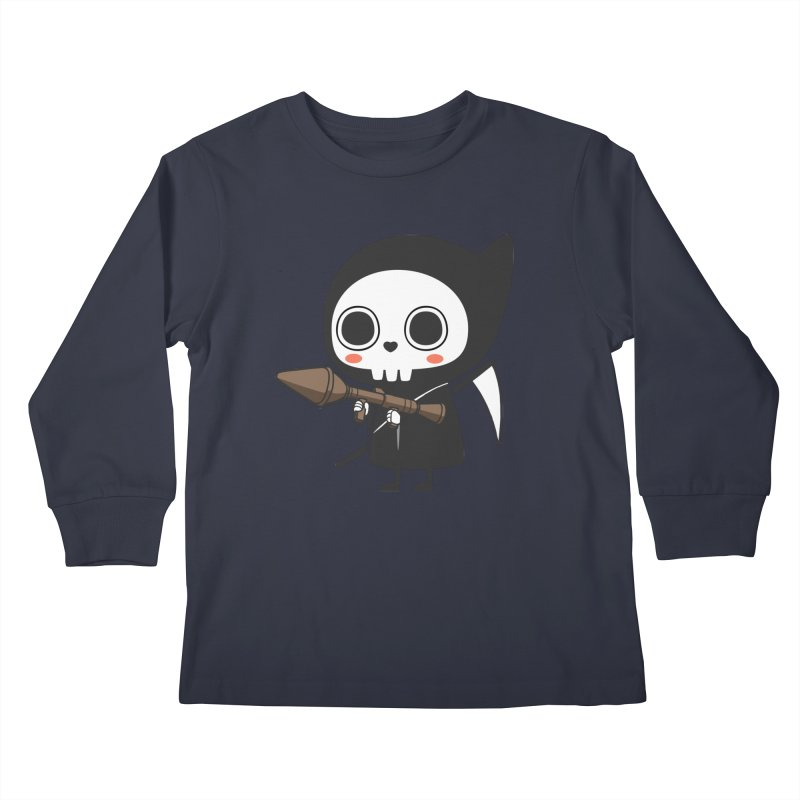 New Weapon Kids Longsleeve T-Shirt by Flying Mouse365