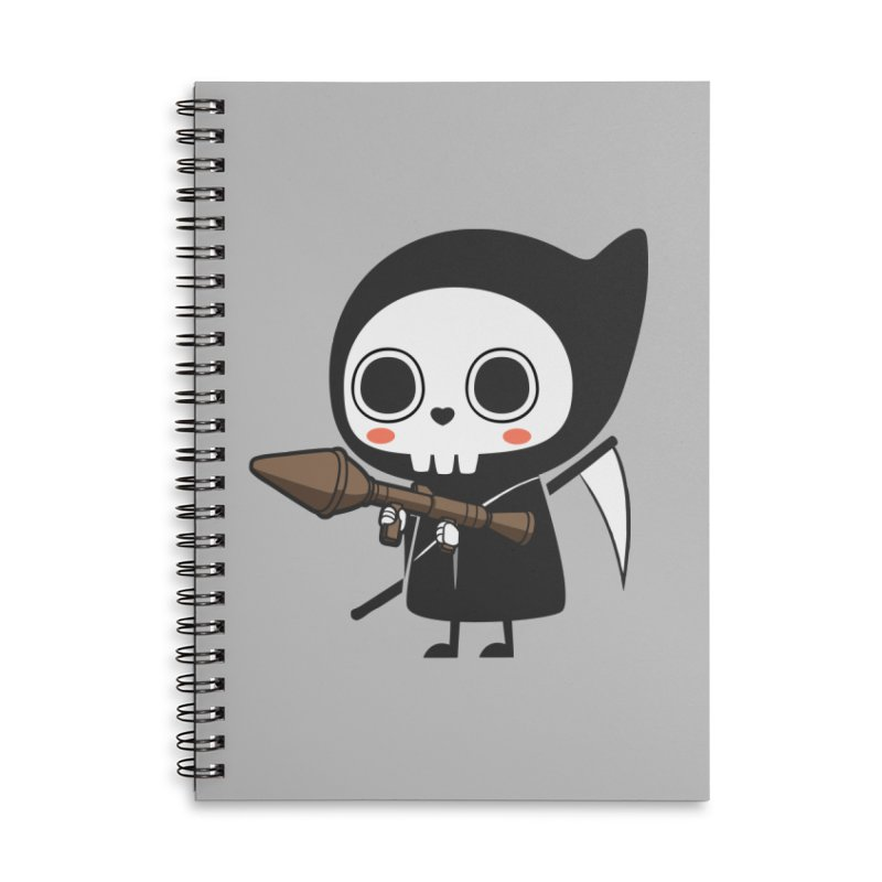 New Weapon Accessories Lined Spiral Notebook by Flying Mouse365