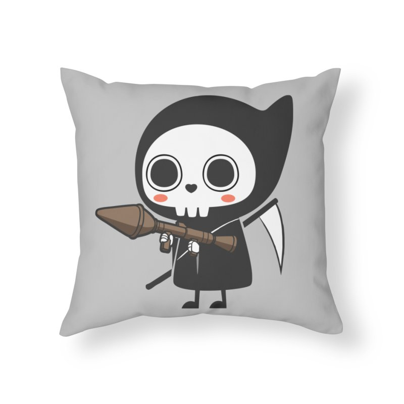New Weapon Home Throw Pillow by Flying Mouse365
