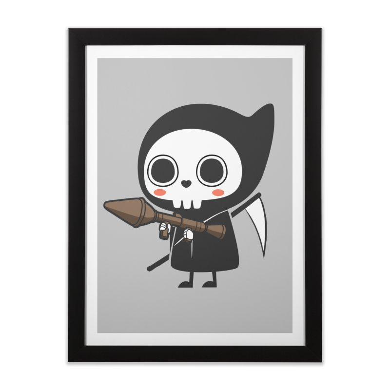 New Weapon Home Framed Fine Art Print by Flying Mouse365