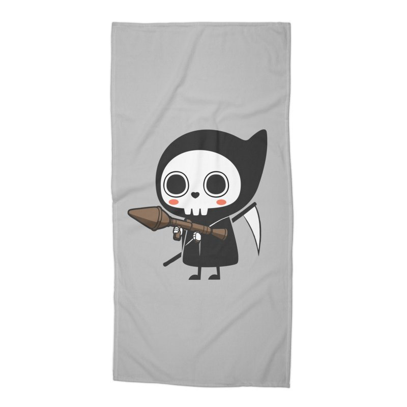 New Weapon Accessories Beach Towel by Flying Mouse365