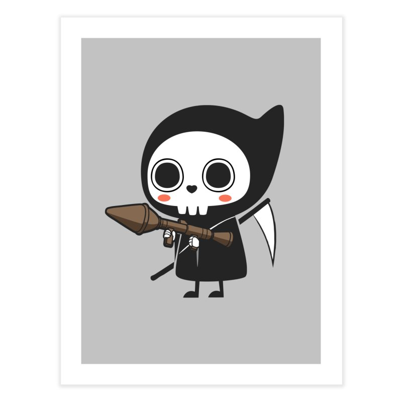New Weapon Home Fine Art Print by Flying Mouse365