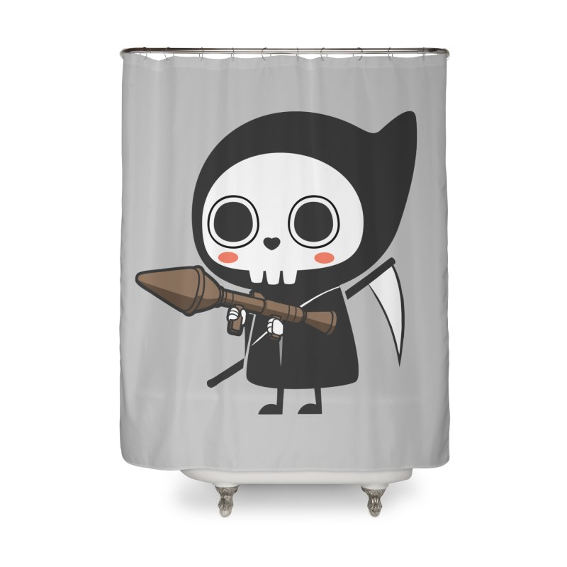 New Weapon Home Shower Curtain by Flying Mouse365
