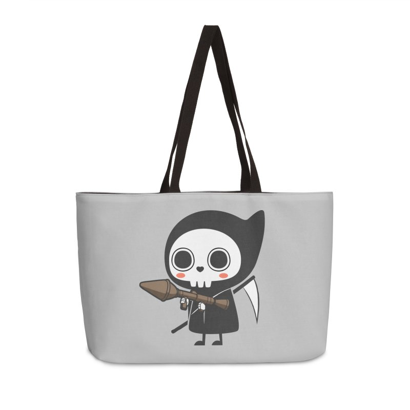 New Weapon Accessories Weekender Bag Bag by Flying Mouse365