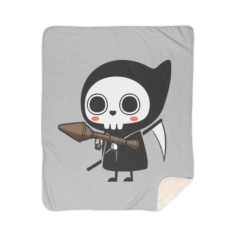 New Weapon Home Sherpa Blanket Blanket by Flying Mouse365