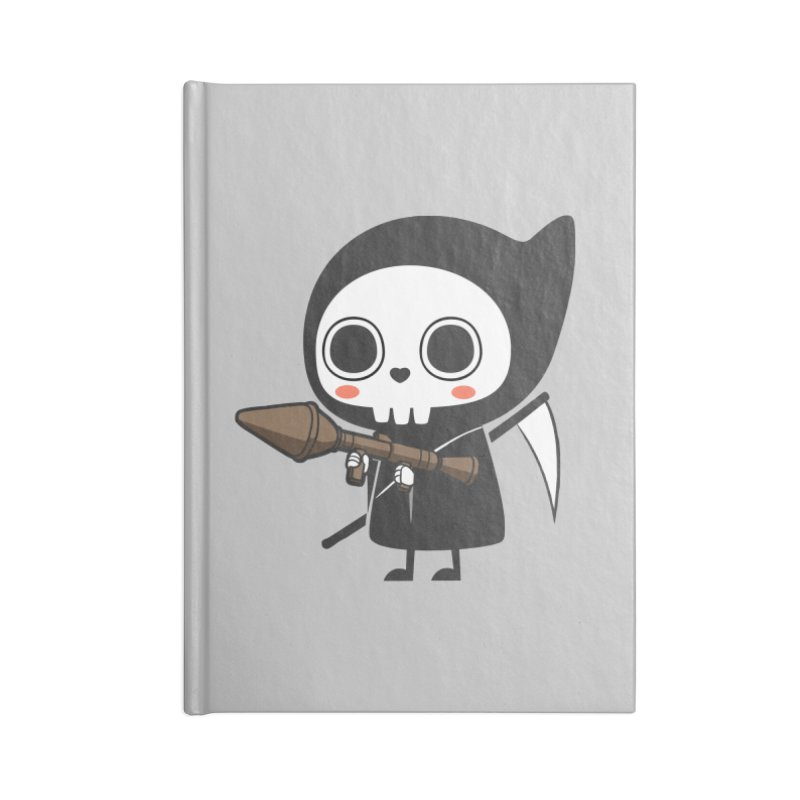 New Weapon Accessories Lined Journal Notebook by Flying Mouse365