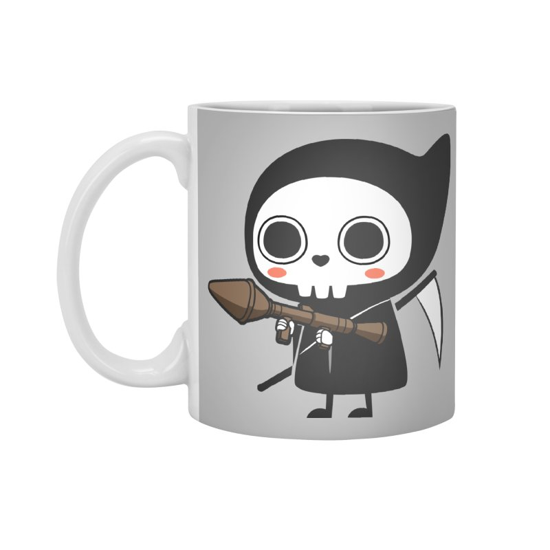 New Weapon Accessories Mug by Flying Mouse365