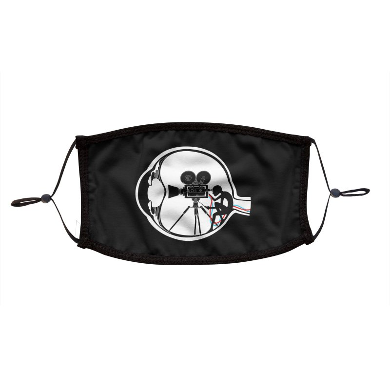 Vision Director Accessories Face Mask by Flying Mouse365