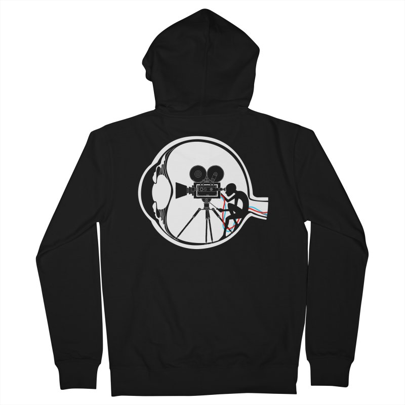 Vision Director Men's Zip-Up Hoody by Flying Mouse365