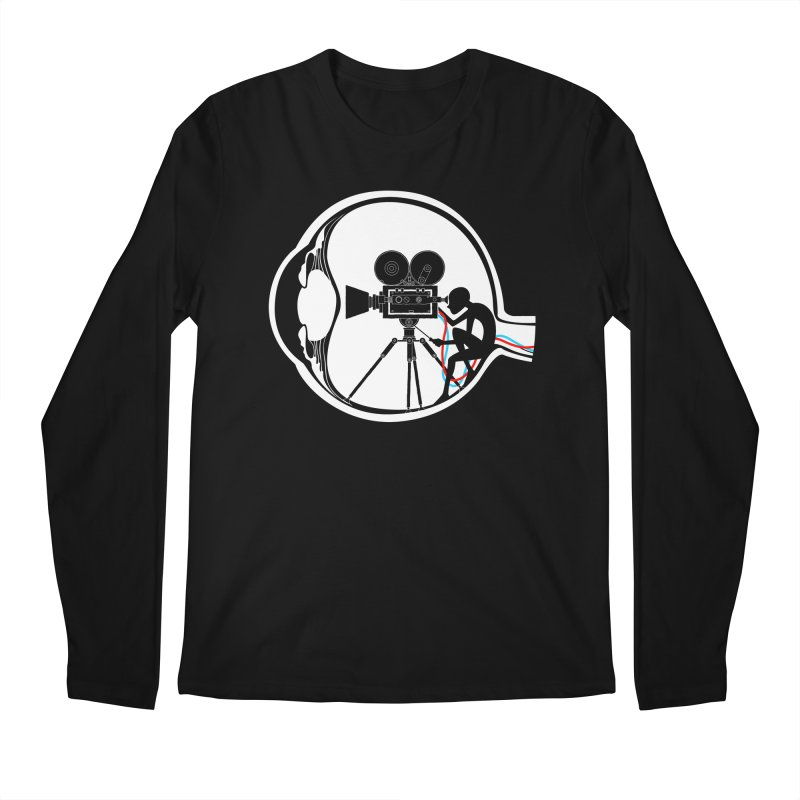 Vision Director Men's Regular Longsleeve T-Shirt by Flying Mouse365