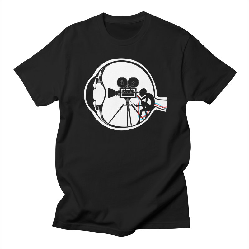 Vision Director Men's Regular T-Shirt by Flying Mouse365