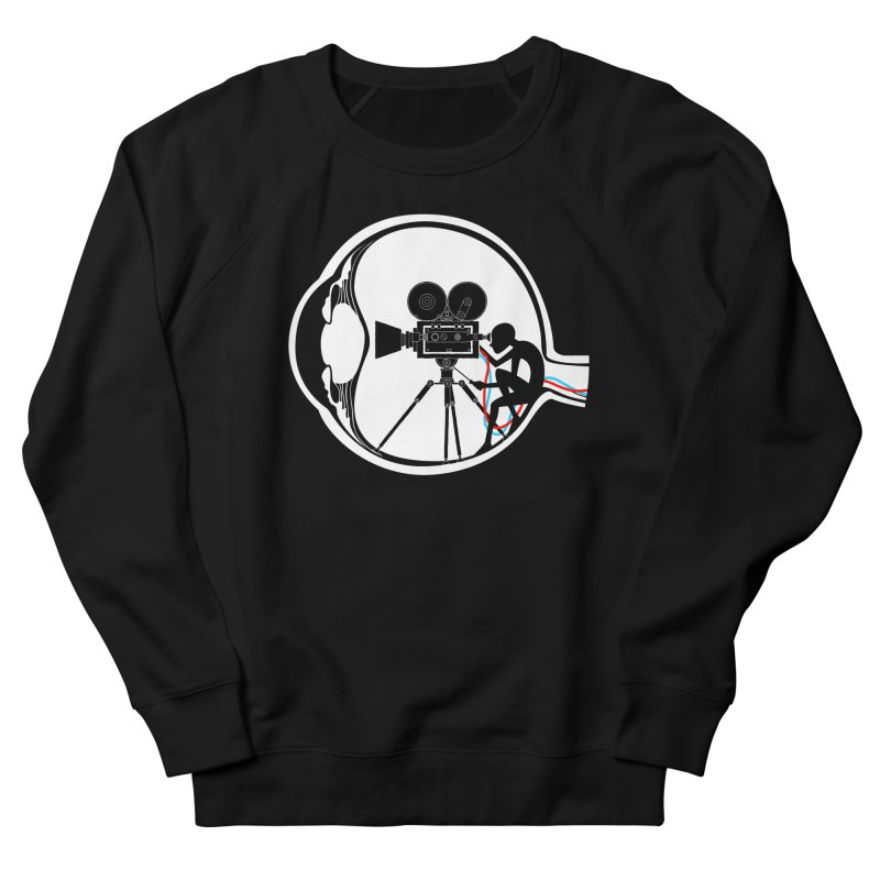 Vision Director Women's French Terry Sweatshirt by Flying Mouse365