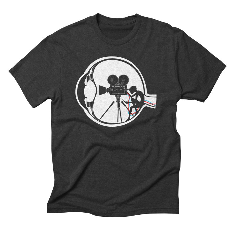 Vision Director Men's Triblend T-Shirt by Flying Mouse365