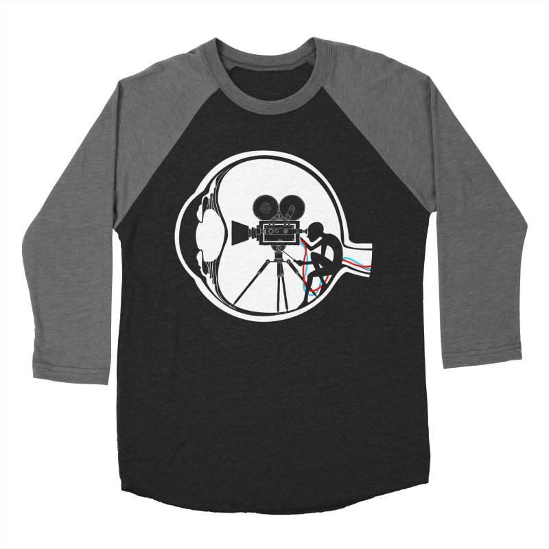 Vision Director Men's Baseball Triblend Longsleeve T-Shirt by Flying Mouse365