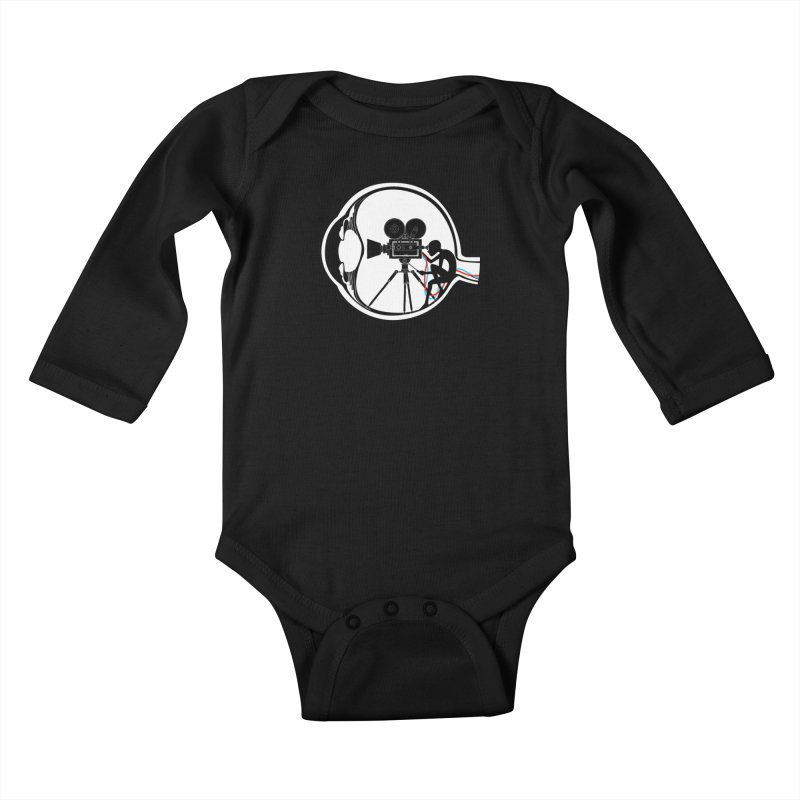 Vision Director Kids Baby Longsleeve Bodysuit by Flying Mouse365