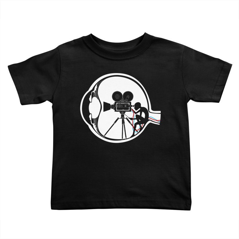 Vision Director Kids Toddler T-Shirt by Flying Mouse365