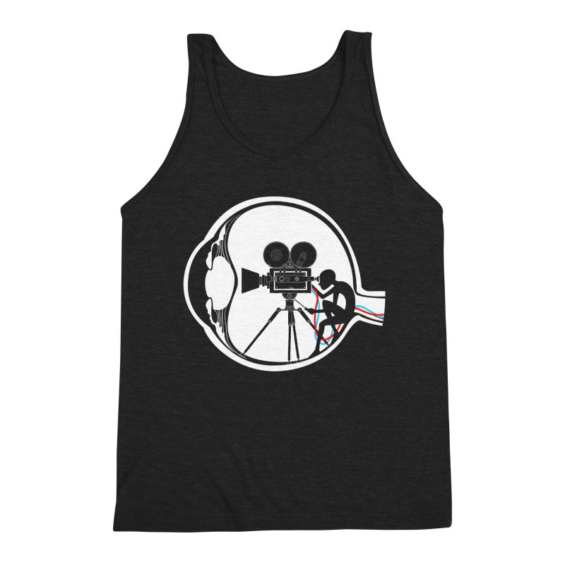 Vision Director Men's Triblend Tank by Flying Mouse365