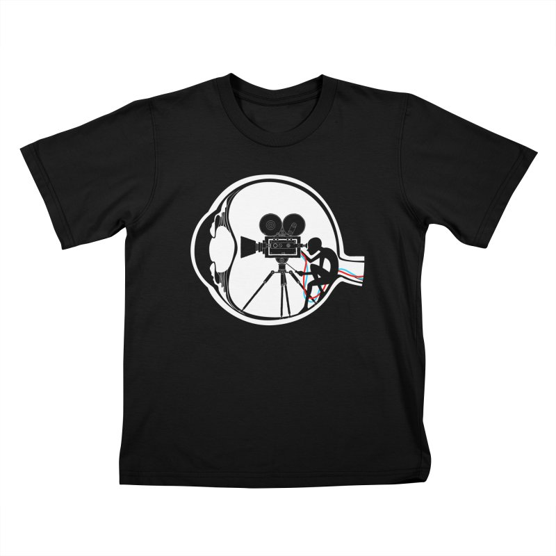 Vision Director Kids T-Shirt by Flying Mouse365