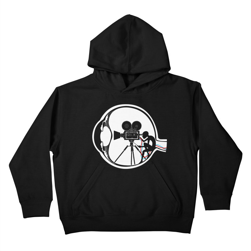 Vision Director Kids Pullover Hoody by Flying Mouse365