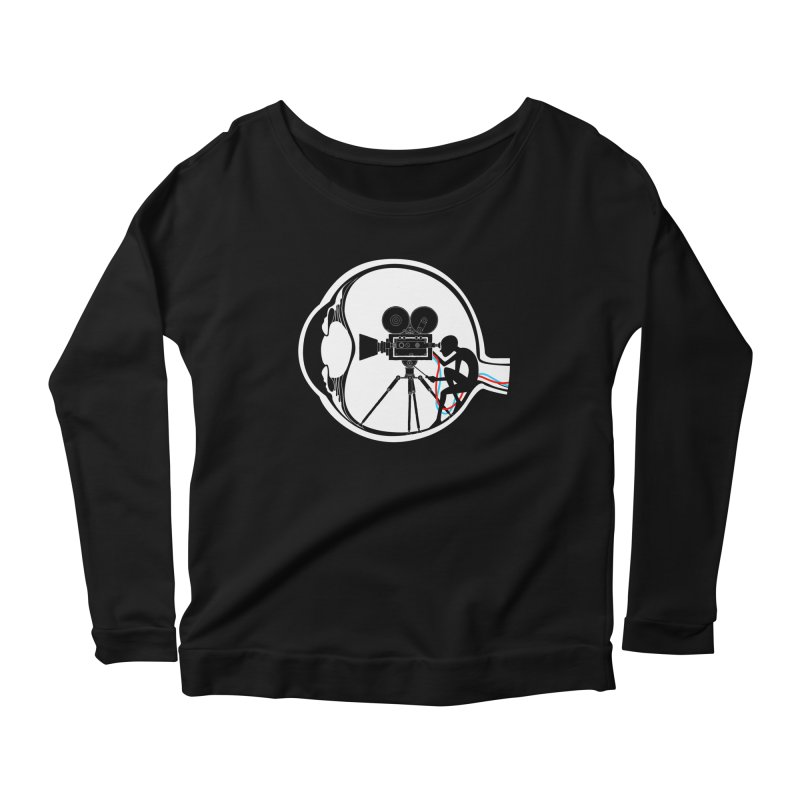 Vision Director Women's Longsleeve Scoopneck  by Flying Mouse365