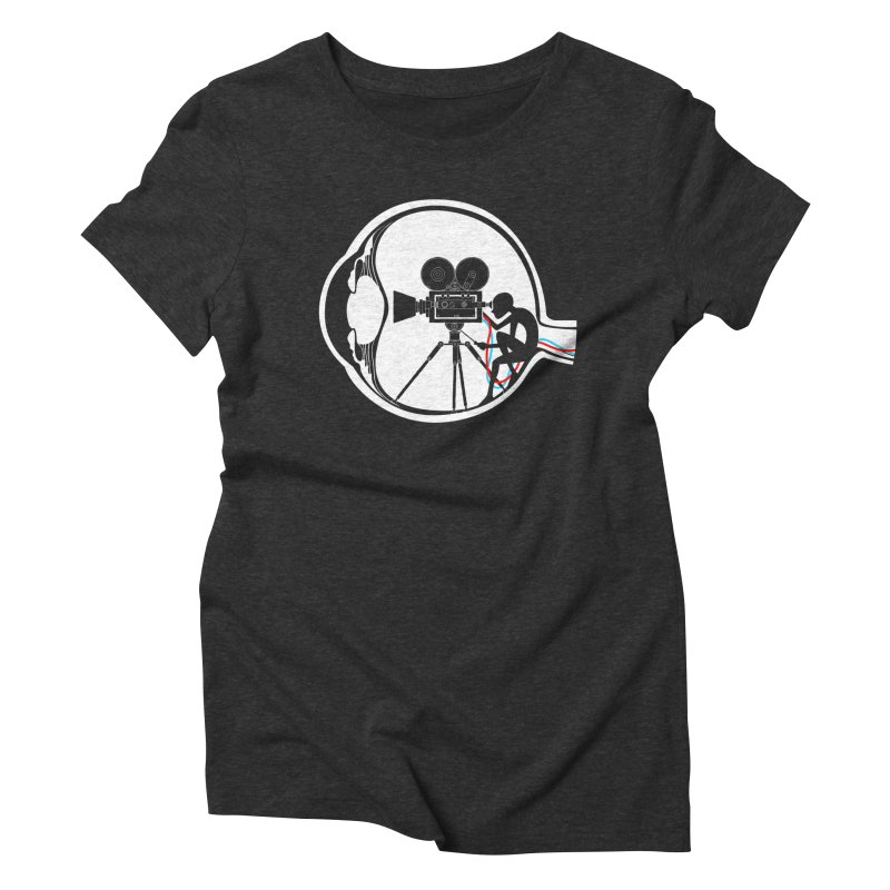 Vision Director Women's Triblend T-Shirt by Flying Mouse365