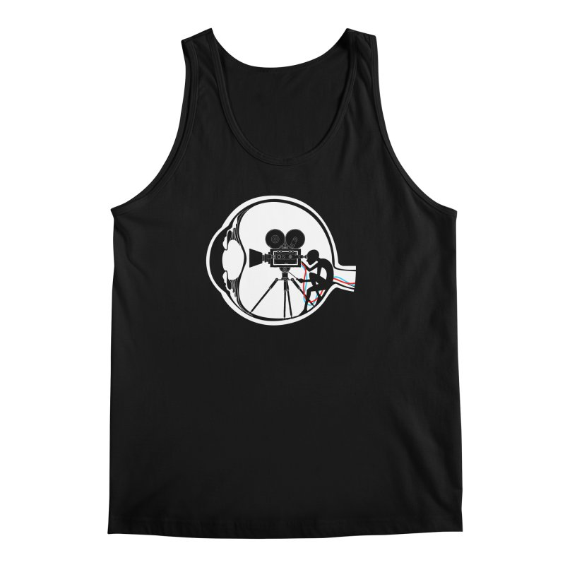 Vision Director Men's Regular Tank by Flying Mouse365