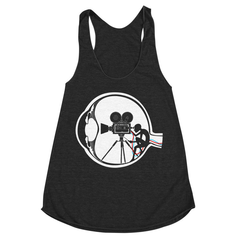 Vision Director Women's Racerback Triblend Tank by Flying Mouse365