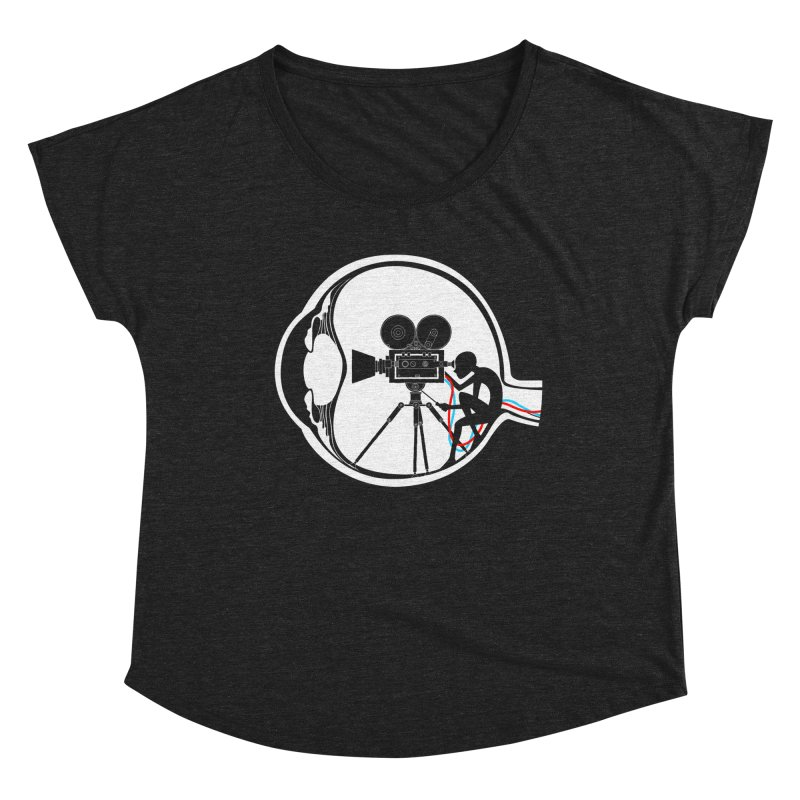 Vision Director Women's Scoop Neck by Flying Mouse365