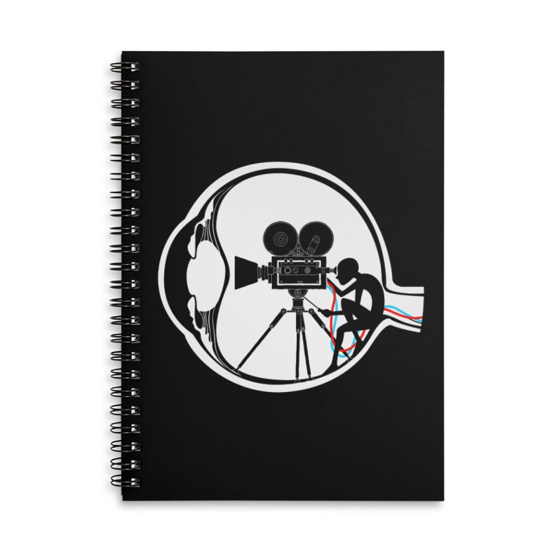 Vision Director Accessories Lined Spiral Notebook by Flying Mouse365