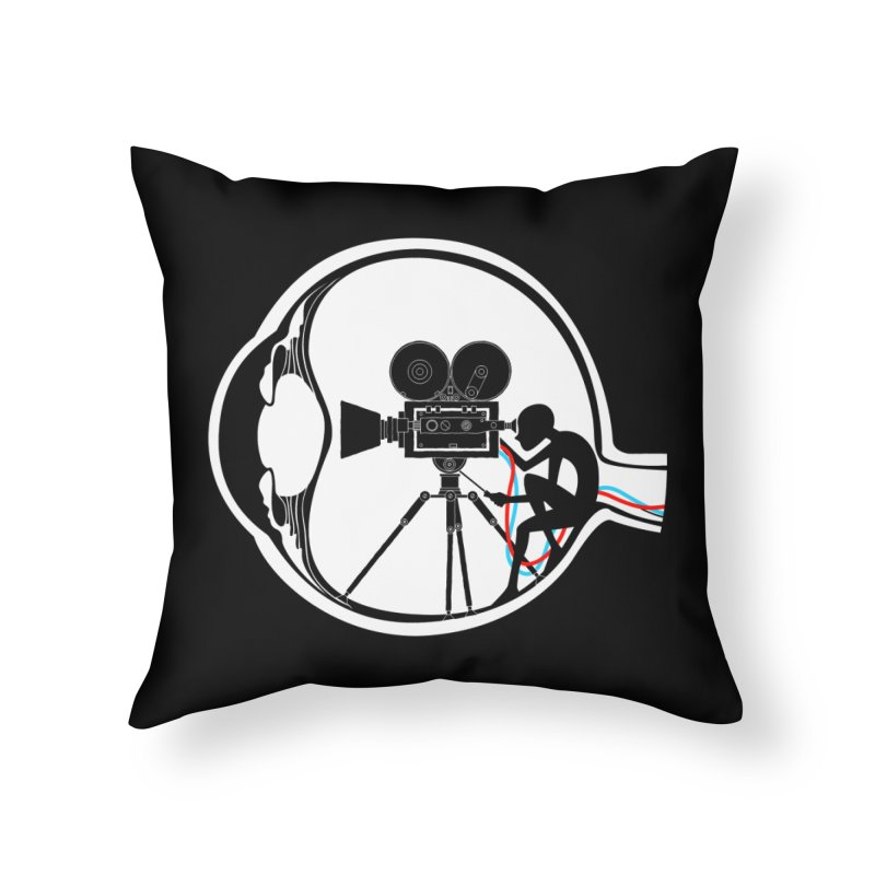 Vision Director Home Throw Pillow by Flying Mouse365