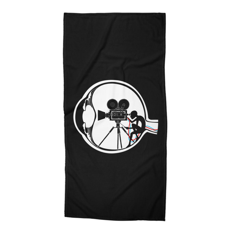 Vision Director Accessories Beach Towel by Flying Mouse365